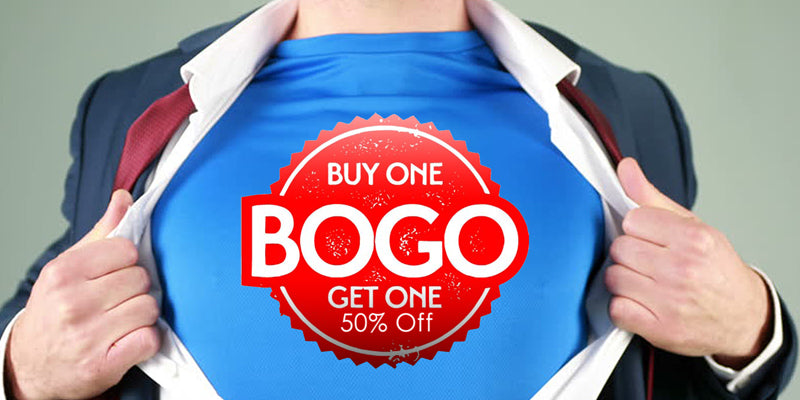 BOGO 50% OFF Right Now!