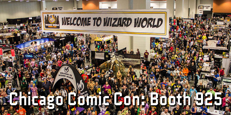 We'll be at Chicago Comic Con!