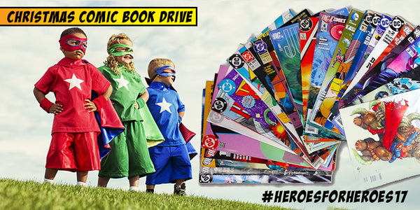 Comic Book Drive for Foster Kids