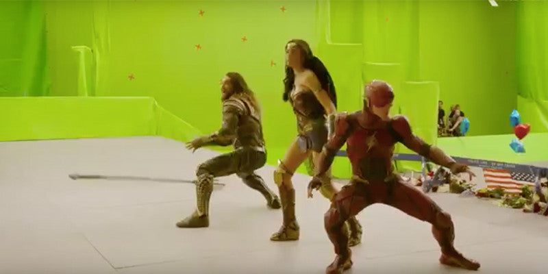 Justice League Behind the Scenes Featurette