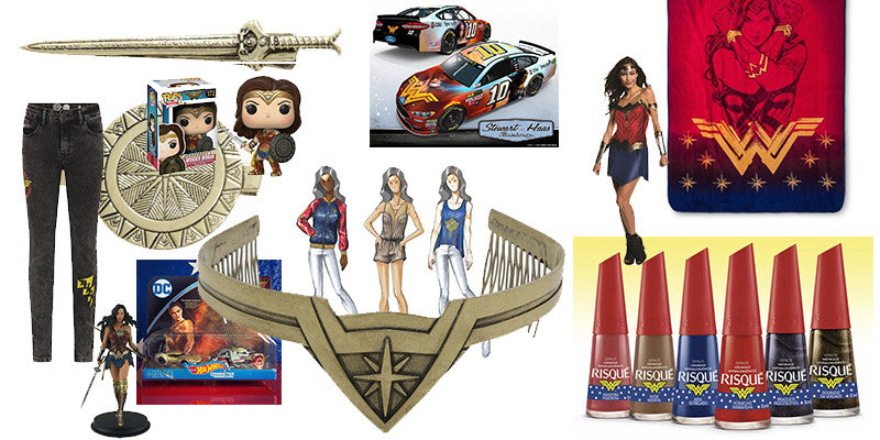 The Ultimate Wonder Woman Film Merchandise List