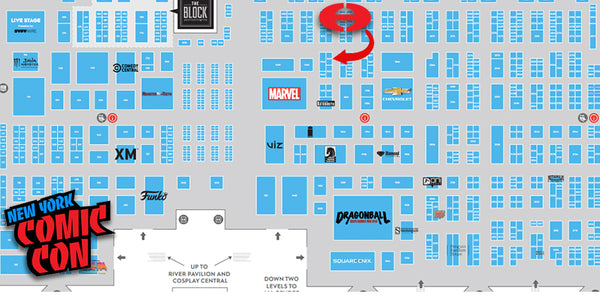 Find Us at New York Comic Con Booth 1671