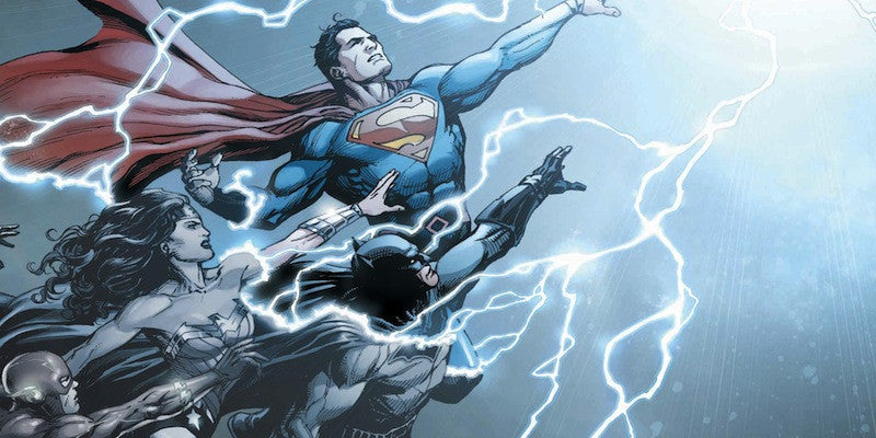 DC's Comics' Rebirth: Good Reading for the Weekend and SDCC