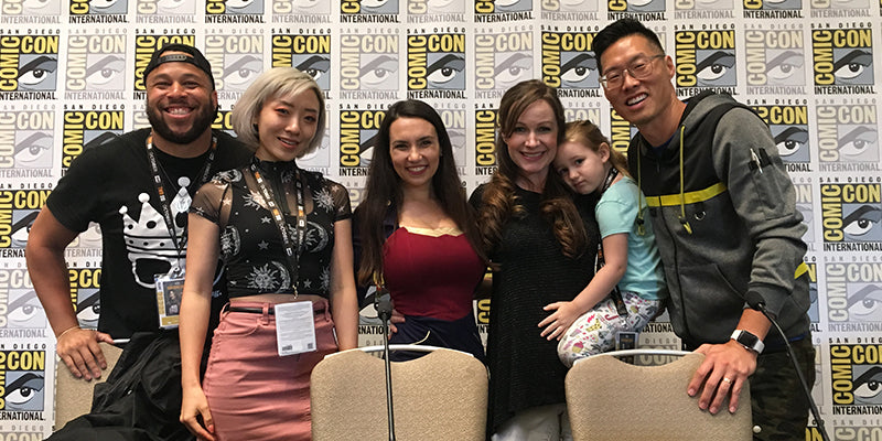 Build A Geek Brand Panel at Comic-Con