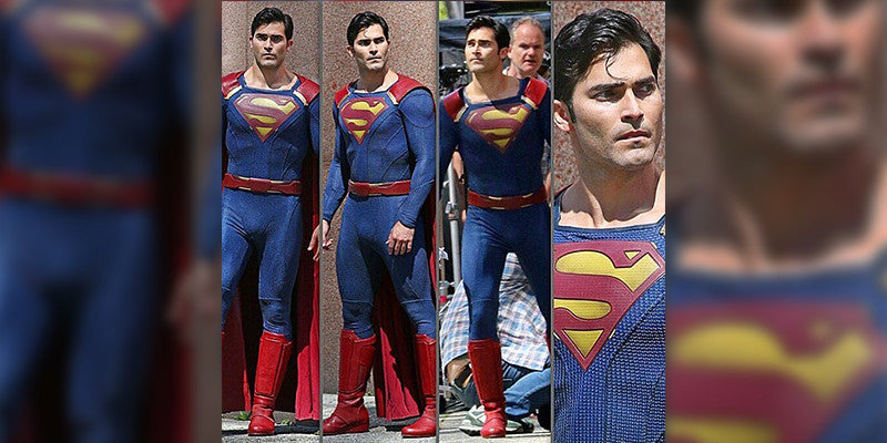 Superman's Costume on CW's Supergirl