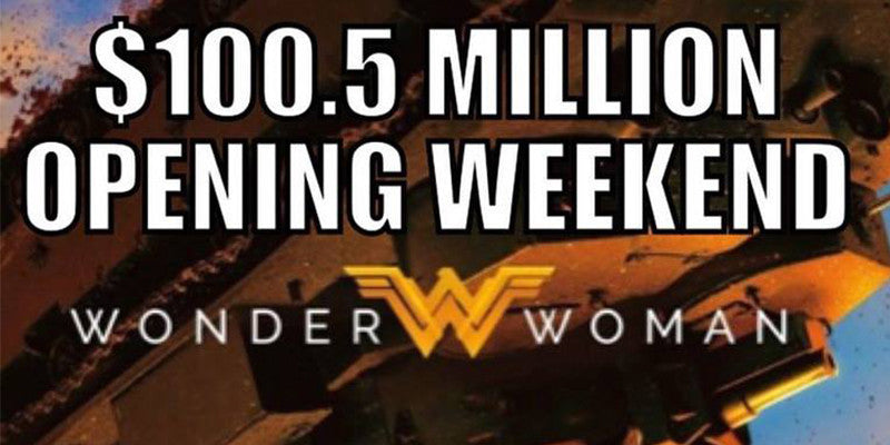 Wonder Woman Breaks Records