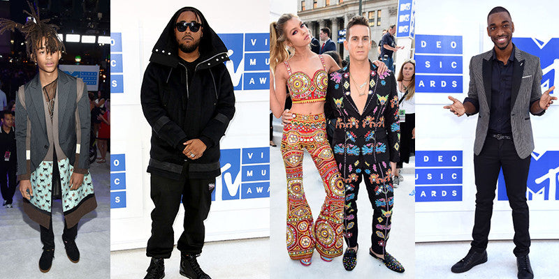 Men's Style from the 2016 VMAs