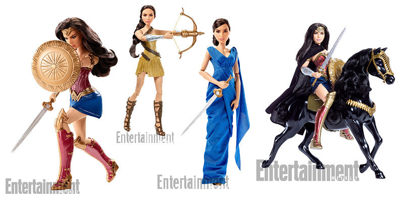 Wonder Woman Toys By Mattel