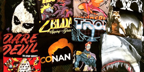 How to Let Your Geek Flag Wave at SDCC: Graphic Tee Style