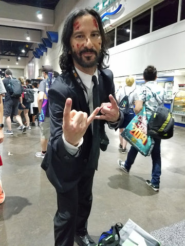 Keanu Reeves Comic Con SDCC Cosplay