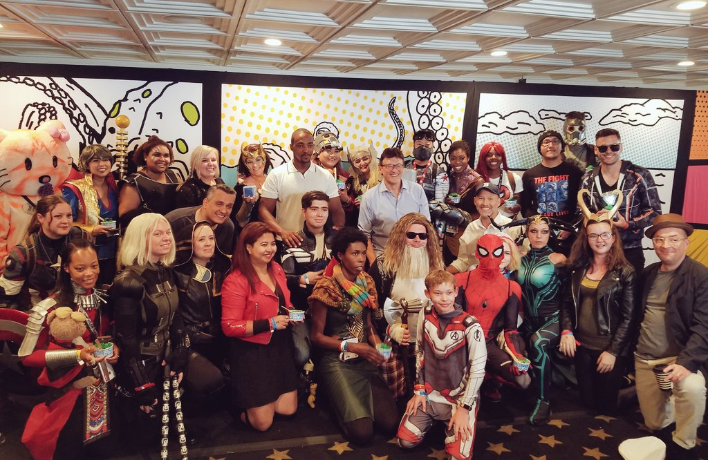 Marvel Madness IMDB Boat Cosplay
