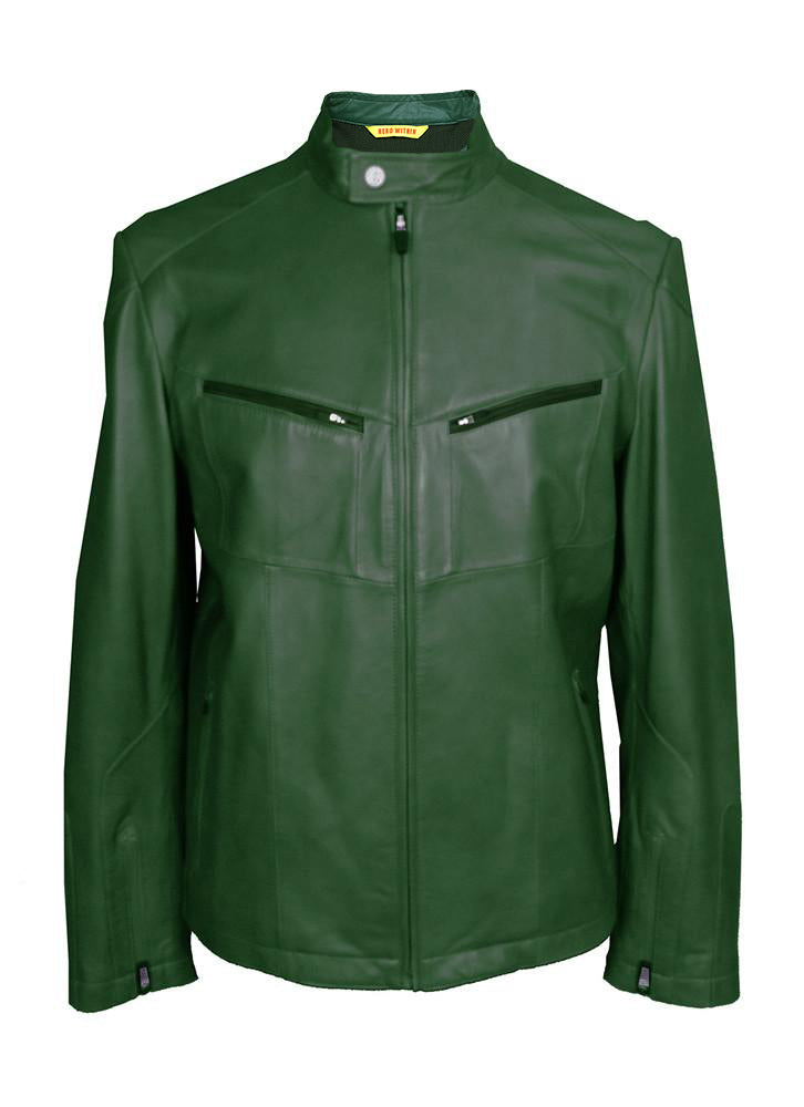 127d4fddb3ec GREEN LANTERN Moto Jacket - Hero Within