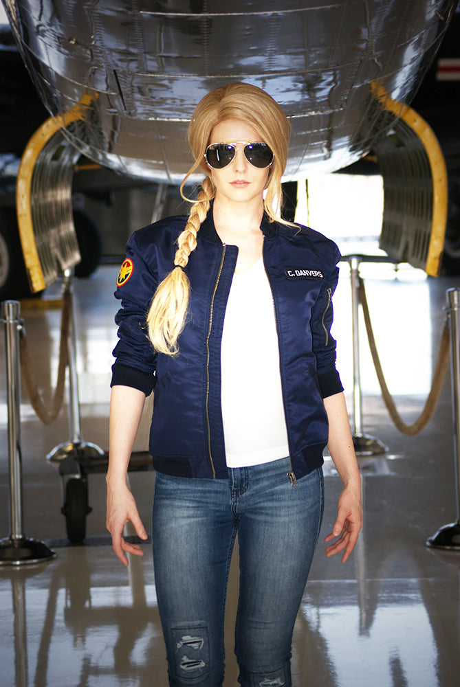 Captain Marvel Flight Jacket