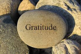On Gratitude ... and an Invitation