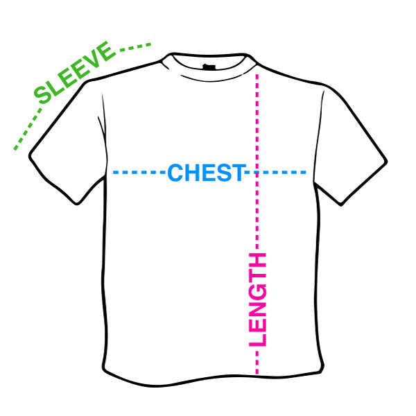 Image result for chest length sleeve tshirt