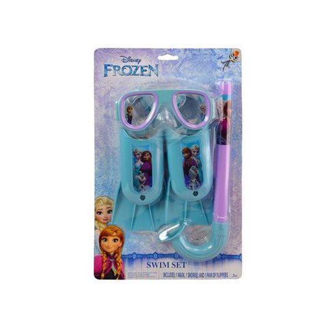 Disney Frozen 3 pc Swim Set on Blister Card