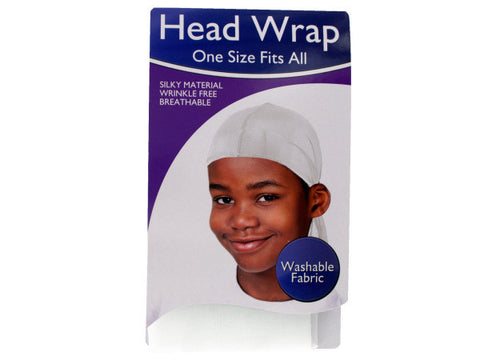 Head Wrap With Tie Band