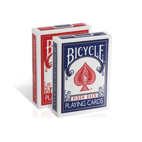 Bicycle Rider Back Index Playing Cards - 2 Pack (Blue & Red)
