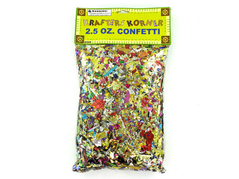 Jumbo Craft Confetti Pack
