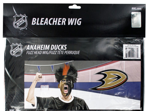 Anaheim Ducks Fuzzy Head Wig