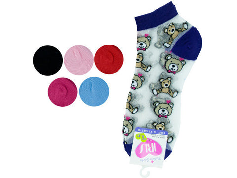 Low Cut Bears Socks
