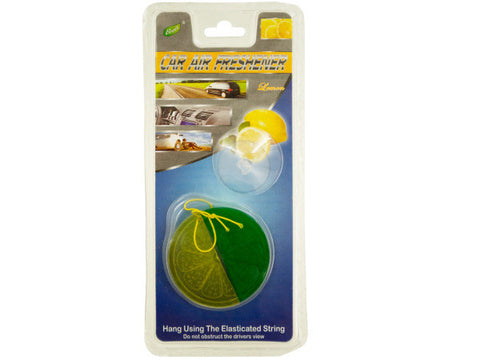 Lemon Lime Car Air Freshener