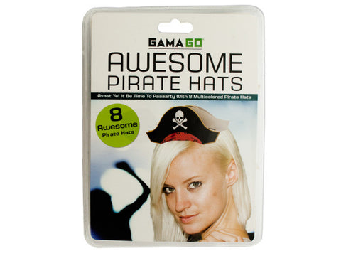 Awesome Pirate Party Hats