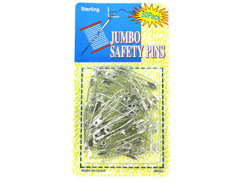 Jumbo Safety Pins