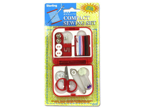 Compact Sewing Kit in Case