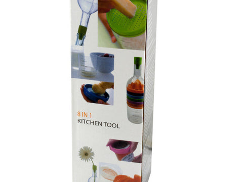 8 in 1 Bottle Shape Kitchen Tool