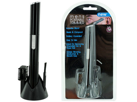 Battery Operated Men's Portable Trimmer