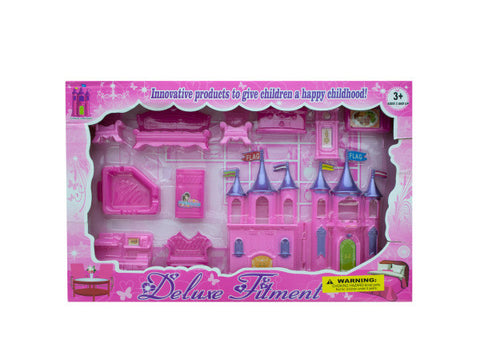Beautiful Castle and Furniture Play Set