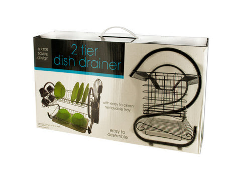 2 Tier Dish Draining Rack