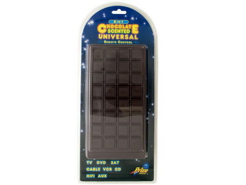 8-In-1 Giant Chocolate Scented Universal Remote Control