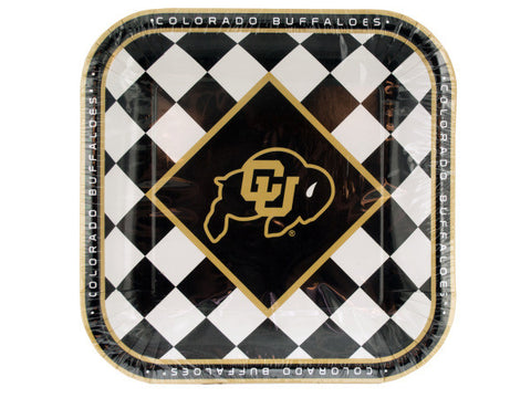 Colorado Buffaloes Lunch Plates Set