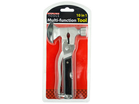 10 in 1 Multi-Function Hammer & Axe Tool