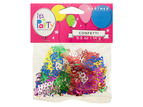 Happy Birthday Confetti