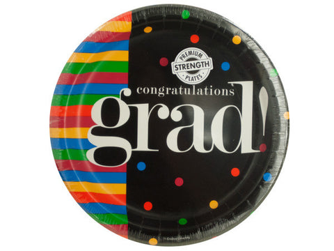 Congratulations Grad Party Plates