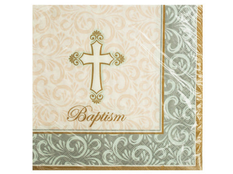 Baptism Divinity Lunch Napkins