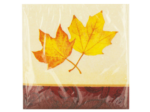Autumn's Gift Beverage Napkins
