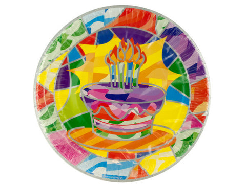 Birthday Cake Party Dessert Plates