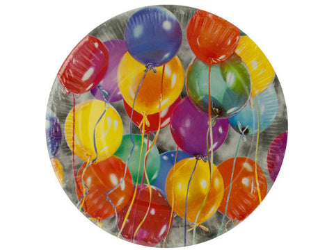 Balloon Party Dessert Plates