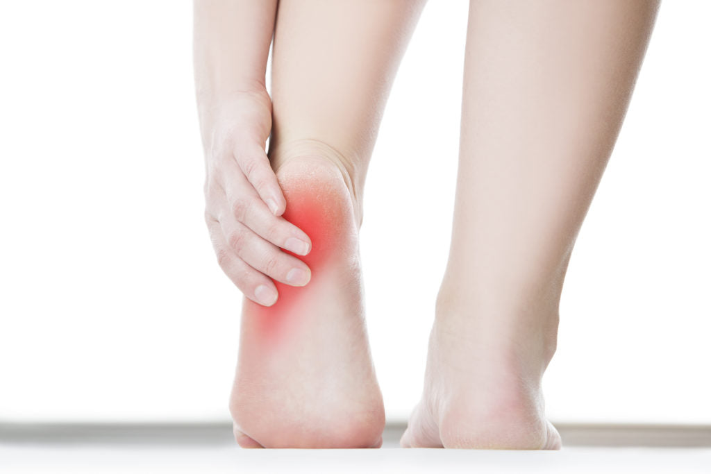 Do you suffer from sharp pains in your heels?