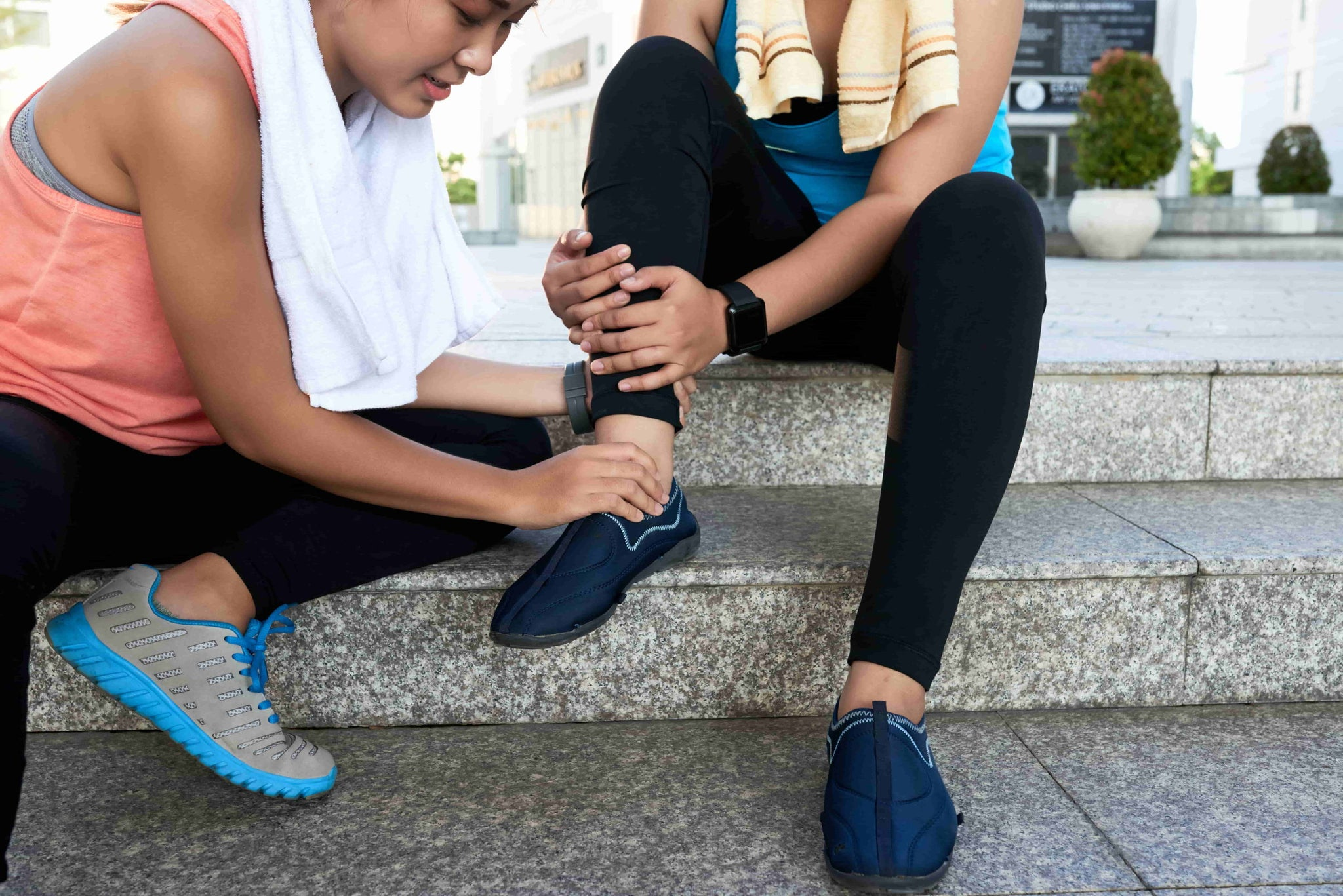 How to rehabilitate a sprained ankle