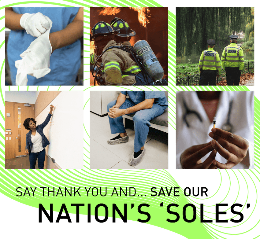 Save our nations soles June campaign