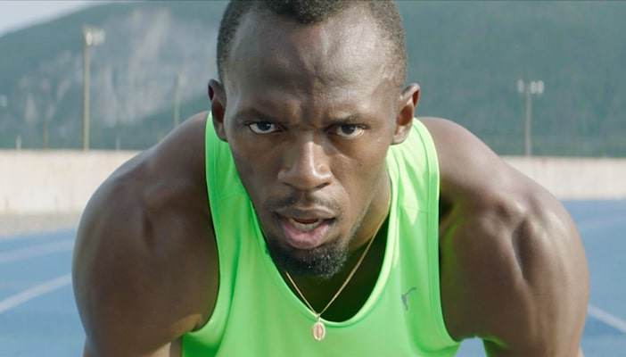 Usain Bolt's chose insoles