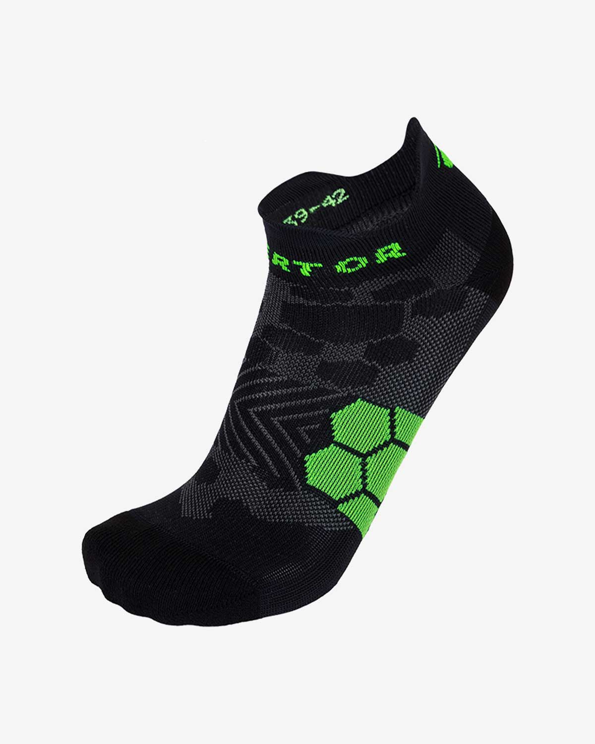 Enertor Specialist Black Running Socks