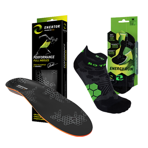 Runner's Bundle - Performance Insoles & Run Socks