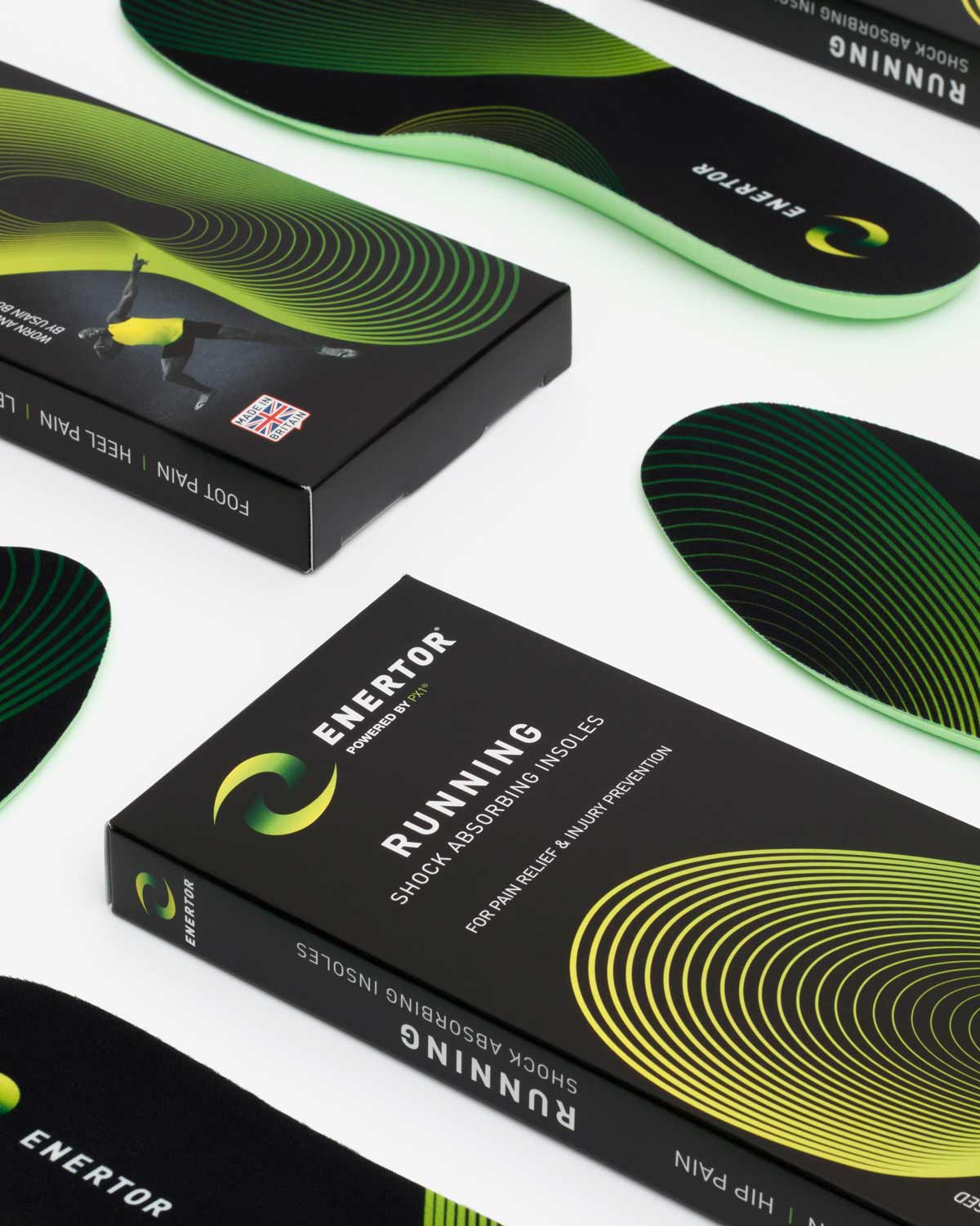 Enertor Running Insoles Group