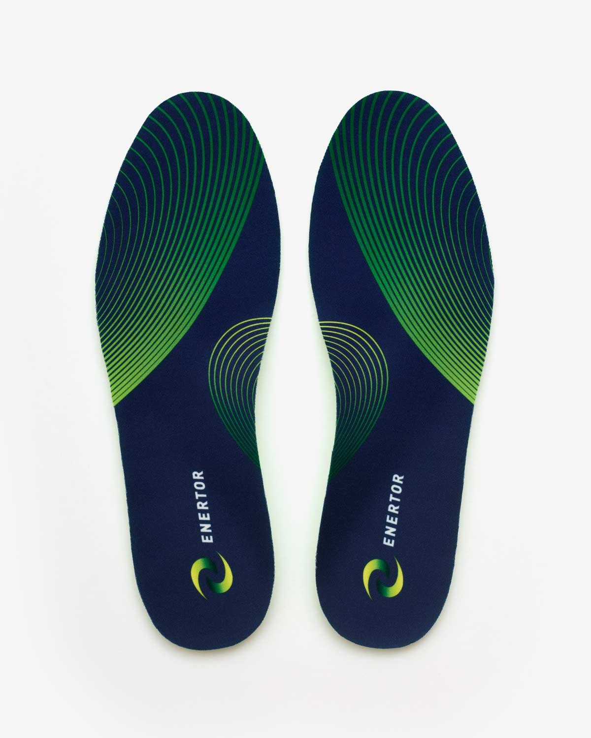 Enertor Walking Insoles Top view pattern